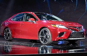 トヨタ自動車の主力車種「カムリ」の新型