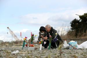 福島・浪江で不明の息子を思う 震災から5年10カ月