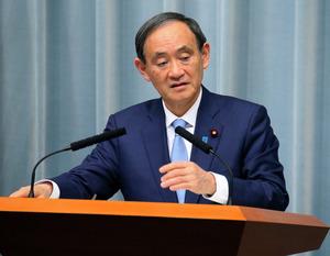 菅官房長官「貿易は日米経済の活力」 トランプ氏発言に