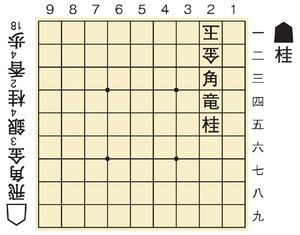 谷川会長が作った詰将棋(答えは記事の末尾にあります)