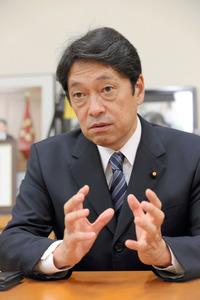 小野寺五典・自民党政調会長代理