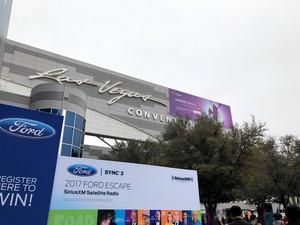 写真1 CESのメイン会場となったラスベガスコンベンションセンター=写真は全て西田宗千佳