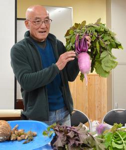 宮崎)在来野菜講座を公立大が企画 生産者たちが講師