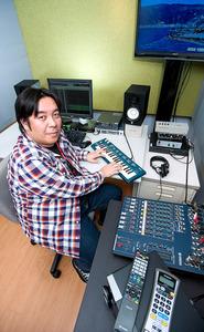 鈴木尊さん 制作したカラオケの楽曲、約500曲