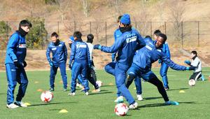 香川)J1昇格へ「6位以内」目標 カマタマーレ初練習