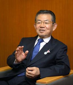 関西経済連合会の森詳介会長