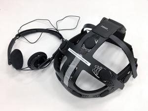 ベルギーの研究機関と共同開発したヘッドホン一体型脳波計測ヘッドセット