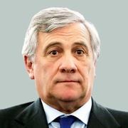 欧州議会の新議長に選出されたアントニオ・タジャーニ氏=ロイター