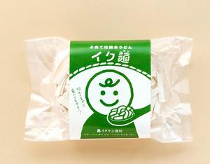 子育て応援おうどん「イク麺(見本)」=県提供
