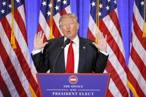 トランプ次期米大統領=ロイター