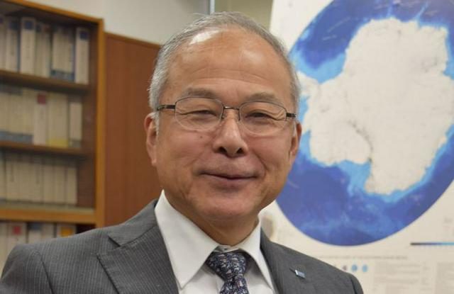 国立極地研究所長 白石和行さん(68)