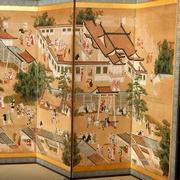 北野天満宮、華やかな屏風 春の特別公開に18社寺