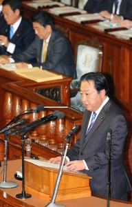 野田氏、首相と因縁の論戦