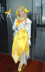 バナナ姫になった市職員、本格コスプレで観光PR出張