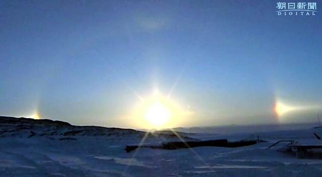 太陽のハロ