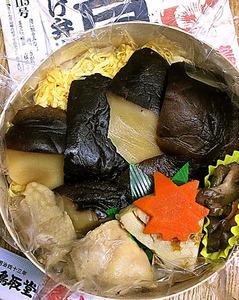 (帰ってきた食べテツの女)色気はないけど、汁気はたっぷり しいたけ弁当 素晴ら椎茸 JR鳥取駅 荷宮和子