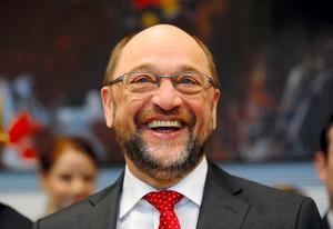 社会民主党のシュルツ前欧州議会議長=ロイター