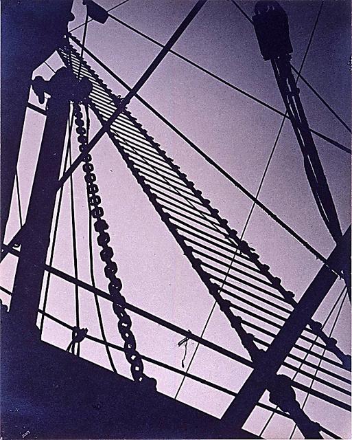 ハナヤ勘兵衛「船C」(1930年、個人蔵)