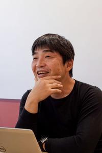 アマゾンジャパンの友田雄介キンドルコンテンツ事業本部長=東京都目黒区