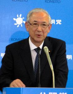井上義久・公明党幹事長
