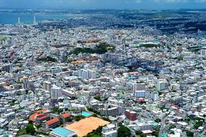 浦添市街(資料写真)