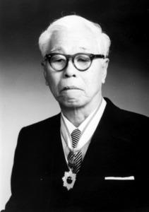 竹中靖一さん=中尾敦子さん提供