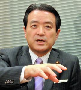 民進党の江田憲司代表代行