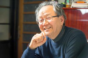 経済学者・猪木武徳さん=左京区
