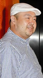 2010年にマカオで撮影された金正男氏=AFP時事