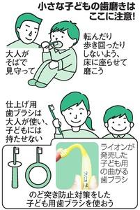 小さな子どもの歯磨きはここに注意!