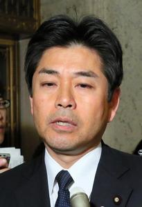 民進党の山井和則・国会対策委員長