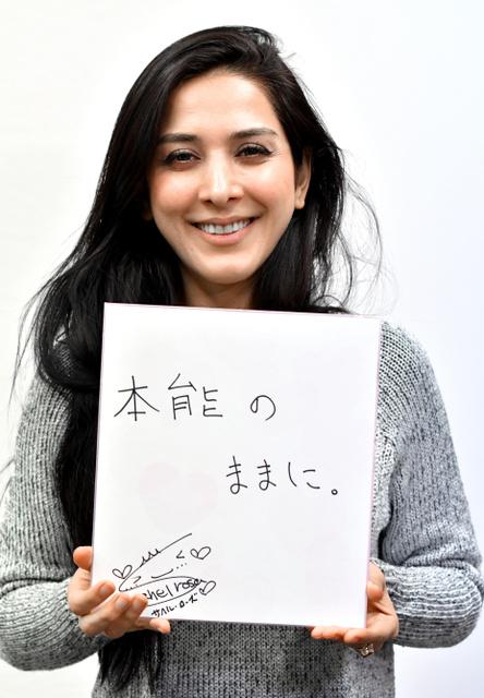 イラン出身タレントのサヘル・ローズさん=東京都港区、仙波理撮影