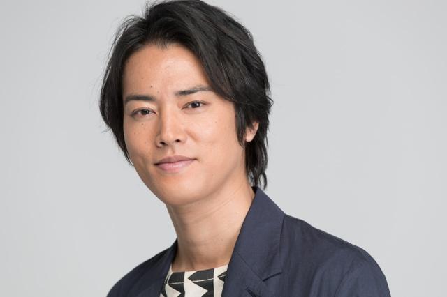 俳優の桐谷健太さん=6日午後、東京都港区、関田航撮影
