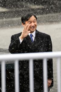皇太子さま、北海道を訪問