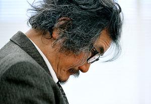 柔和な表情は対局が始まると一変した。生活のすべてを囲碁に注ぐ情熱は衰えを知らない=1月26日、東京・市ケ谷の日本棋院、門間新弥撮影