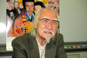 鈴木清順さん(2005年5月16日撮影)