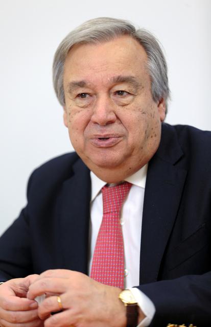 アントニオ・グテーレス氏
