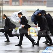 関東の太平洋側で強風 横浜では瞬間最大21.7M