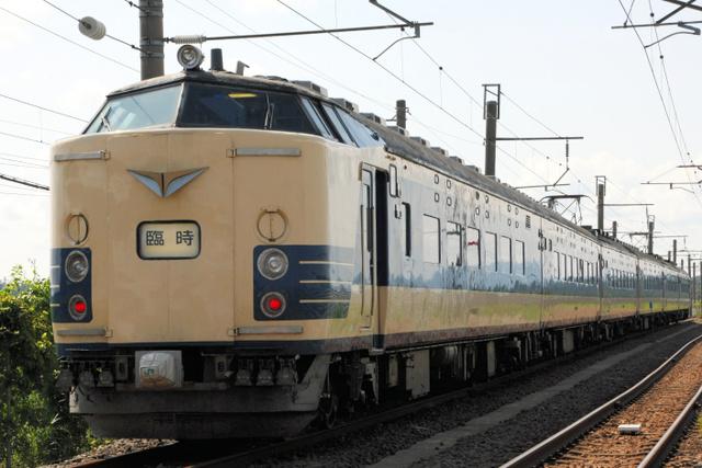 引退する特急形寝台電車「583系」=JR東日本秋田支社提供