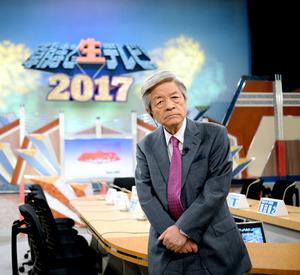 「朝まで生テレビ!」司会の田原総一朗さん=2月25日、東京都港区、金居達朗撮影