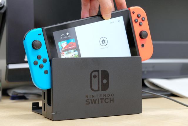 任天堂が発売した新型ゲーム機「ニンテンドースイッチ」
