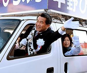 昨年12月の焼津市長選で再選された中野弘道さん