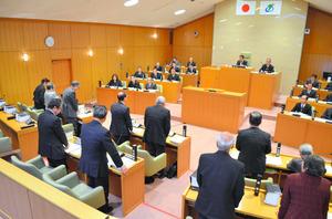 住民投票条例案を賛成多数で可決した滋賀県愛荘町議会