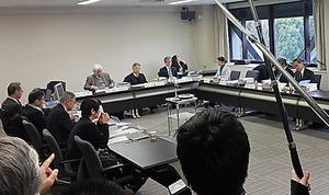 声明案をまとめた日本学術会議の検討委員会=7日、東京・六本木