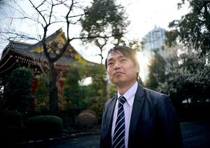 解剖学者の養老孟司さんらを招いて先月、現代日本の葬送をテーマにした講演会を開いた=東京都港区の増上寺、浅野哲司撮影