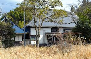 和水町が購入する金栗四三翁の生家=和水町中林