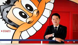 萩原史雄さん 増やした年間販売本数、約3億本