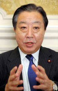 民進・野田氏、法形式に持論