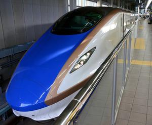 北陸新幹線=JR金沢駅