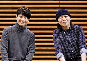 20日夜に初対談が放送される星野源(左)と山下達郎